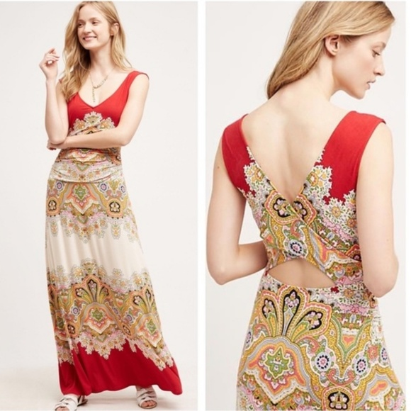 Tracy Reese Dresses & Skirts - Anthropologie Boteh Maxi by Tracy Reese XL